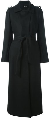 Twin-Set classic trench coat $453.71 thestylecure.com