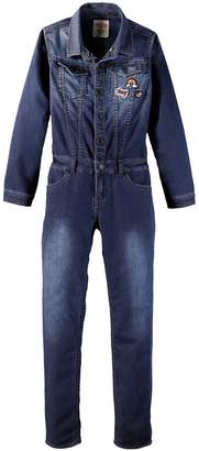 Levi's Denim Jumpsuit with Patches, 2-16 Years