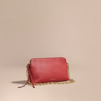 Burberry Grainy Leather Clutch Bag $1,250 thestylecure.com