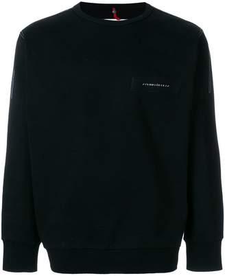 Oamc top stitch detail sweatshirt