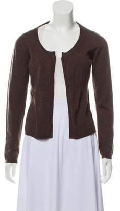 Marni Open Front Cashmere Cardigan brown Open Front Cashmere Cardigan