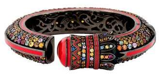 MCL by Matthew Campbell Laurenza Multicolor Sapphire & Enamel Bracelet