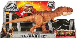 Jurassic World Thrash'N' Throw T-Rex Figure