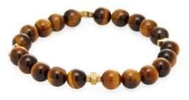 Tigers-Eye Beaded Bracelet