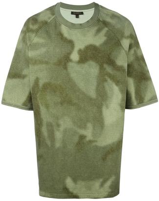 Yeezy Season 3 printed oversized T-shirt $250 thestylecure.com