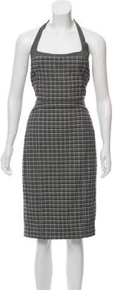 Narciso Rodriguez Patterned Midi Dress