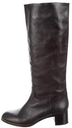 Veronique Branquinho Leather Knee Boots