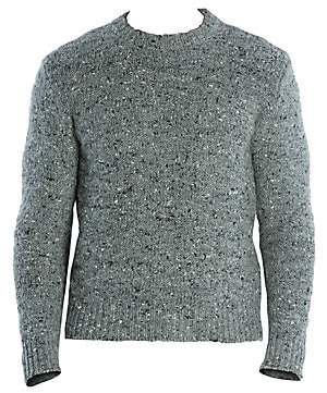 Eleventy Men's Melange Wool, Alpaca& Silk Sweater