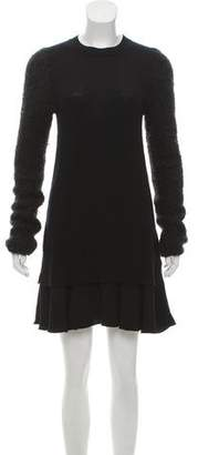 Victoria Beckham Victoria Wool & Cashmere Mini Dress