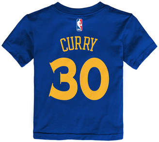 Nike Stephen Curry Golden State Warriors Replica Name & Number T-Shirt, Toddler Boys (2T-4T)