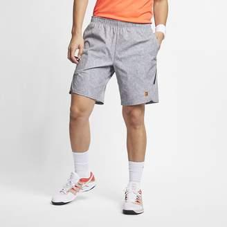 8afa1ff72 Nike Men's Printed Tennis Shorts NikeCourt Flex Ace