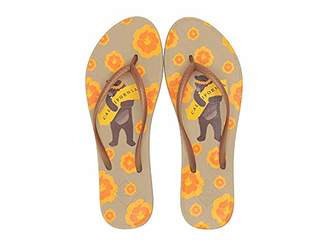 27a2a9e68ed6 Freewaters Women s Becca Print Zori Sandal with Arch Support Geta