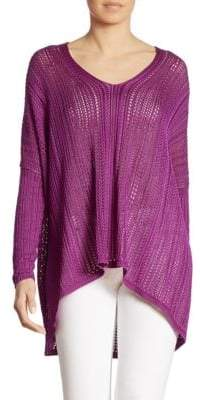 Ralph Lauren Silk Poncho Top