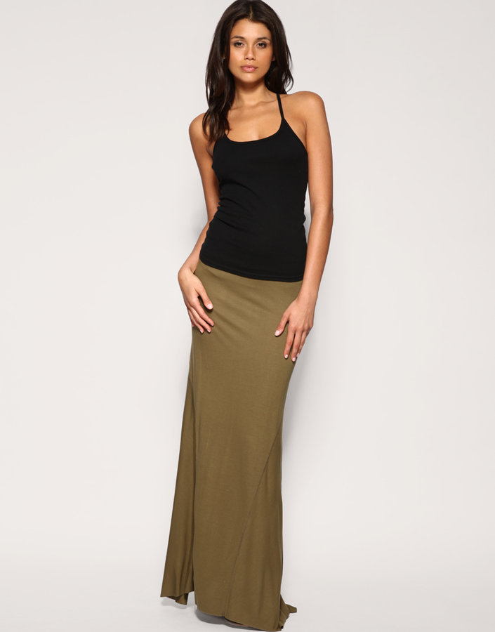 ASOS Seam Detail Maxi Skirt