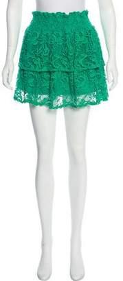 Alexis Crochet Mini Skirt