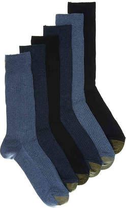 Gold Toe Stanton Crew Socks - 6 Pack - Men's