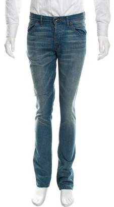 Raleigh Denim Five-Pocket Straight-Leg Jeans w/ Tags
