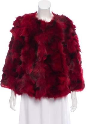 Rebecca Minkoff Monique Fox Fur Jacket