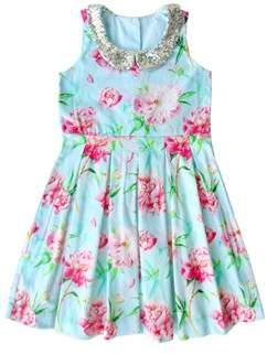 Sophie Catalou Co. Sophie Catalou Girls' Leticia Pleated Dress