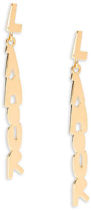 RED Valentino L'amour Dangle And Drop Earrings
