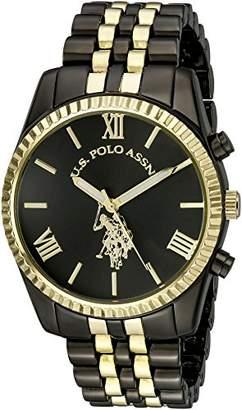 U.S. Polo Assn. Women's USC40059 Two-Tone Bracelet Watch
