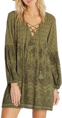 Billabong Just Like You Print Peasant Dress $54.95 thestylecure.com