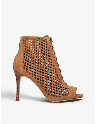 Nine West Moustique leather booties