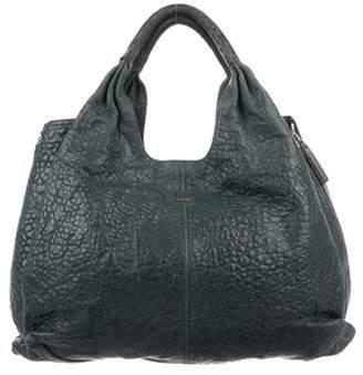 Givenchy Tinhan Leather Shopper Blue Tinhan Leather Shopper