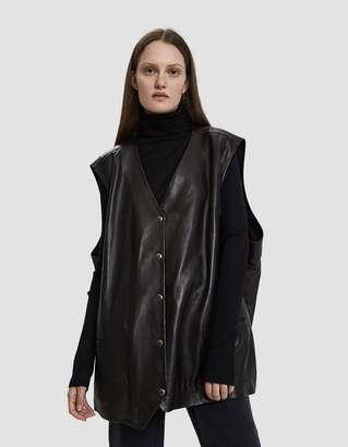 Aalto Oversize Leather Vest