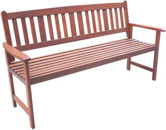 The Import Depot Outdoor Benches Malay 3 Seater Outdoor Bench