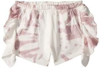 Chaser Kids Super Soft Ruffle Side Shorts Girl's Shorts