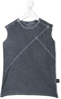 Nununu panelled vest top