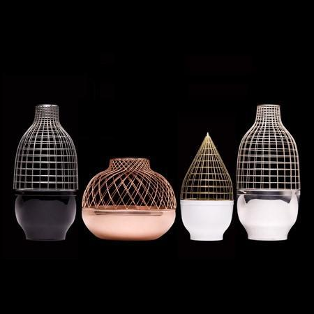 Gaia & Gino - grid vase collection by jaime hayon for gaia & gino