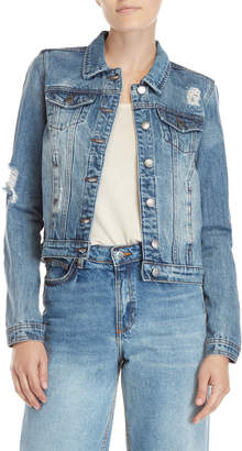 Buffalo David Bitton Nova Distressed Denim Jacket