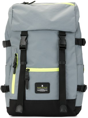 Makavelic Jade double buckle Evolution backpack