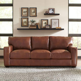 Birch Lane Pratt Leather Sofa