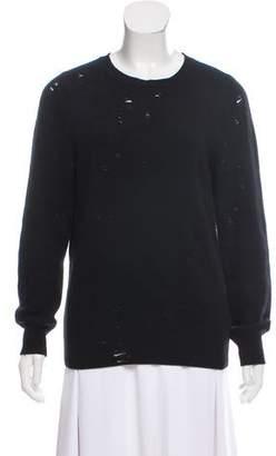 Yang Li Broken Wool Sweater