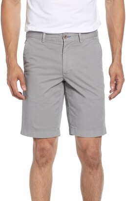 Brax Belleville Regular Fit Flat Front Stretch Cotton Bermuda Shorts