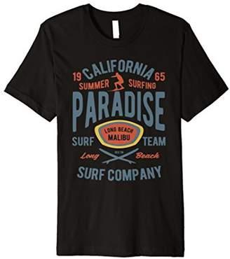 California Surf Beach Retro Vintage Design T-Shirt
