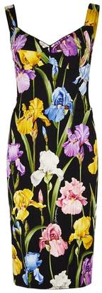 Dolce & Gabbana Floral-print Silk-blend Dress