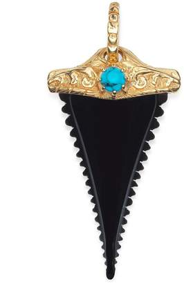 Gucci Horn shark tooth charm
