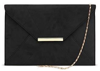ZKHOECR Envelope Wallets for Women Ladies Clutch Bag with Removable Chain Strap and Pocket Evening Magnet Hook Bag Bridal Wedding Elegant Handbag Prom Faux Suede Oversized Purse Light Grey