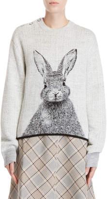 Paul & Joe Sister Rabbit Snap Shoulder Sweater