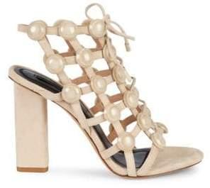 ae6eca632 Alexander Wang Suede Upper Women's Sandals - ShopStyle
