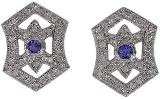 Effy Fine Jewelry 14K 0.83 Ct. Tw. Diamond & Tanzanite Studs