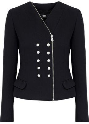 Versace Buttton-Detailed Gauze Jacket