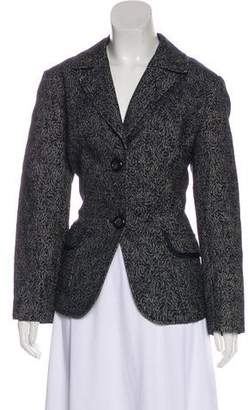 Lafayette 148 Notch-Lapel Textured Blazer