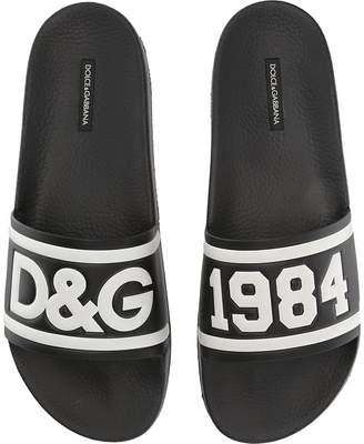 Dolce & Gabbana Pool Slide Sandal Men's Shoes