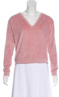 Amo V-Neck Long Sleeve Sweater