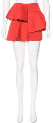 Marni Tiered Neoprene Skirt